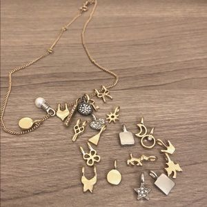 Gold Charm Necklace